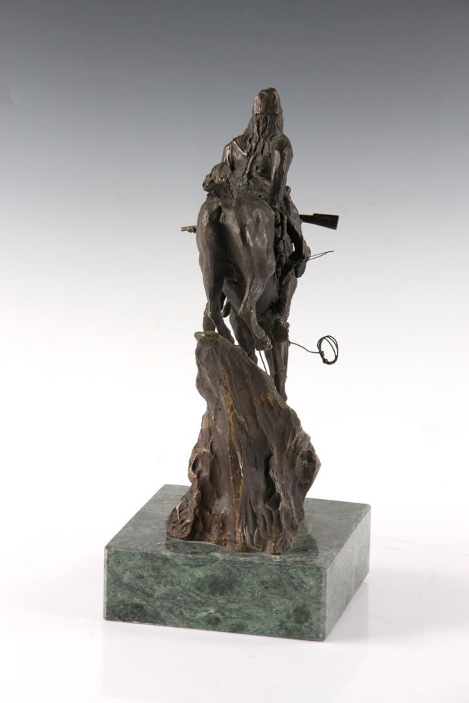 Remington Figural Bronze - 3