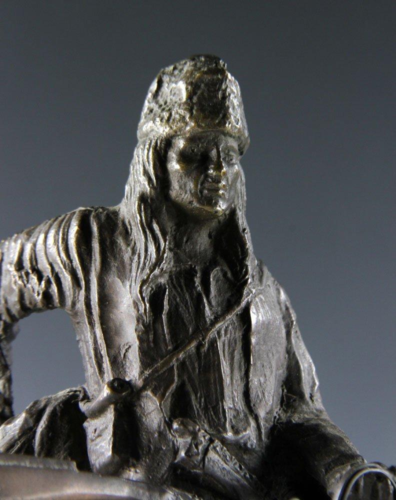 Remington Figural Bronze - 5