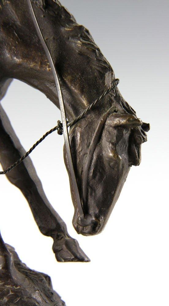 Remington Figural Bronze - 6