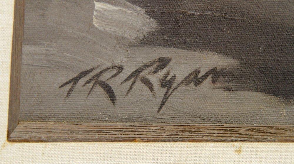 Ryan, Civil War Veteran, Oil on Canvas - 6