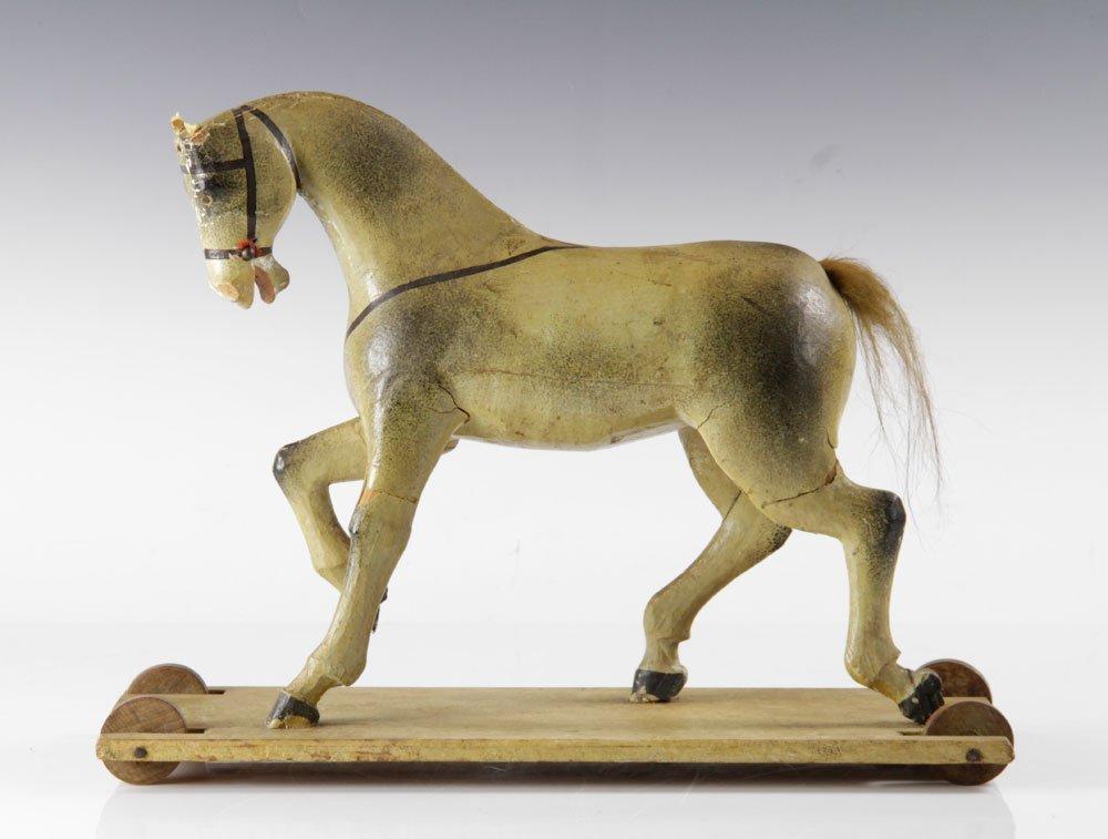 American Folk Art Pull Toy
