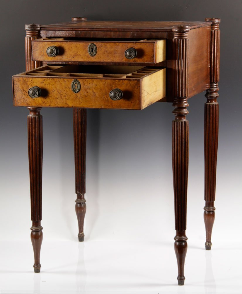 Early New England Sewing Stand - 3