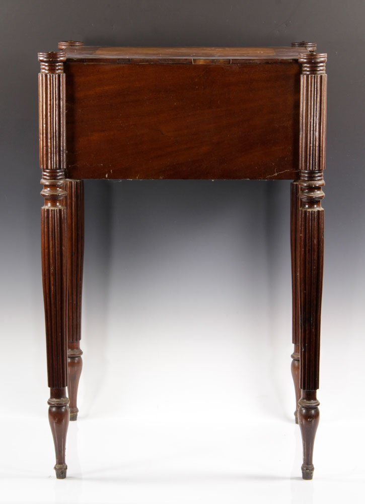 Early New England Sewing Stand - 4
