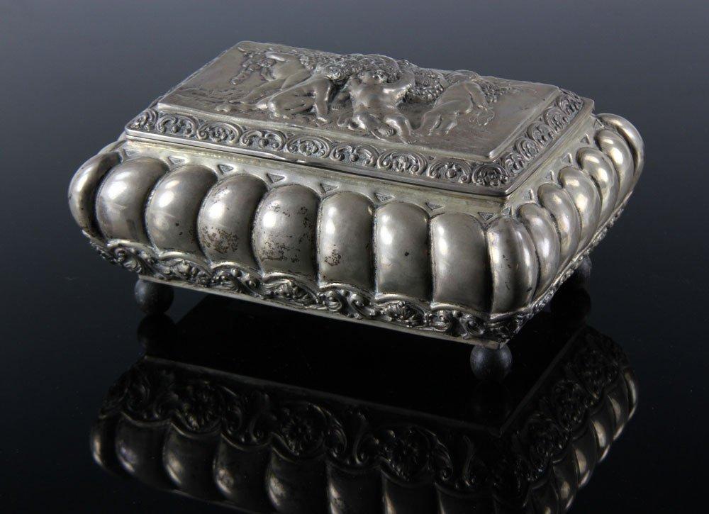 Silver Continental Box
