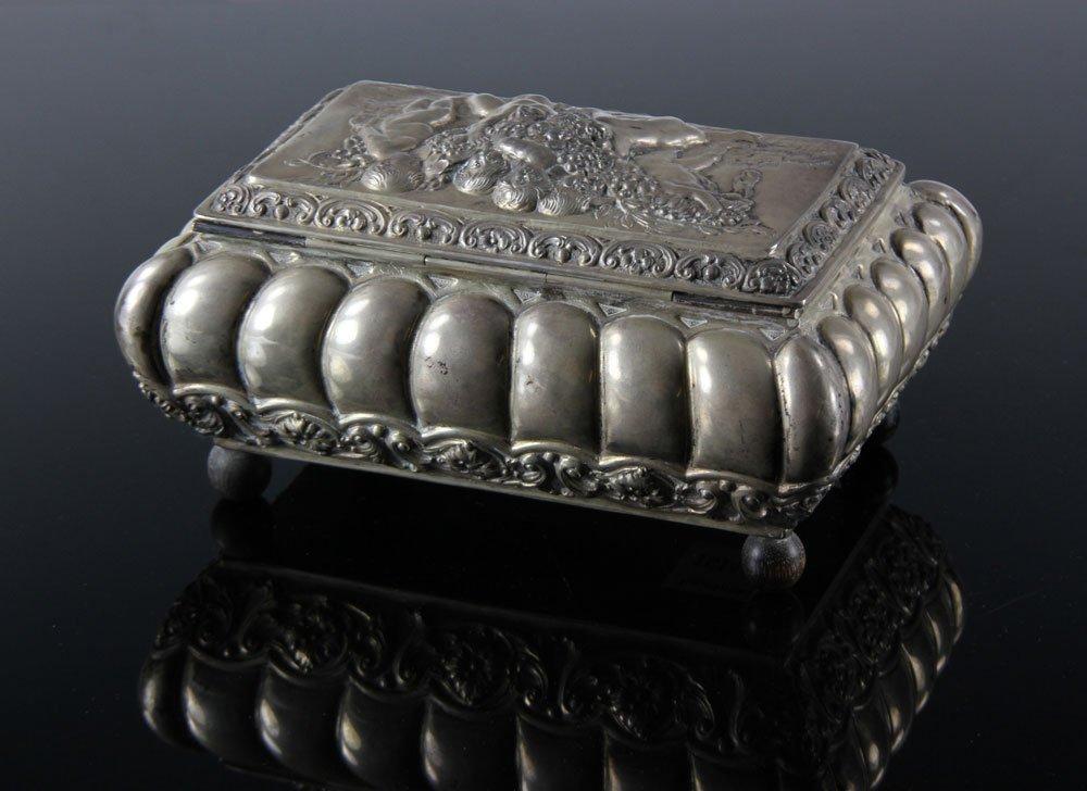 Silver Continental Box - 2