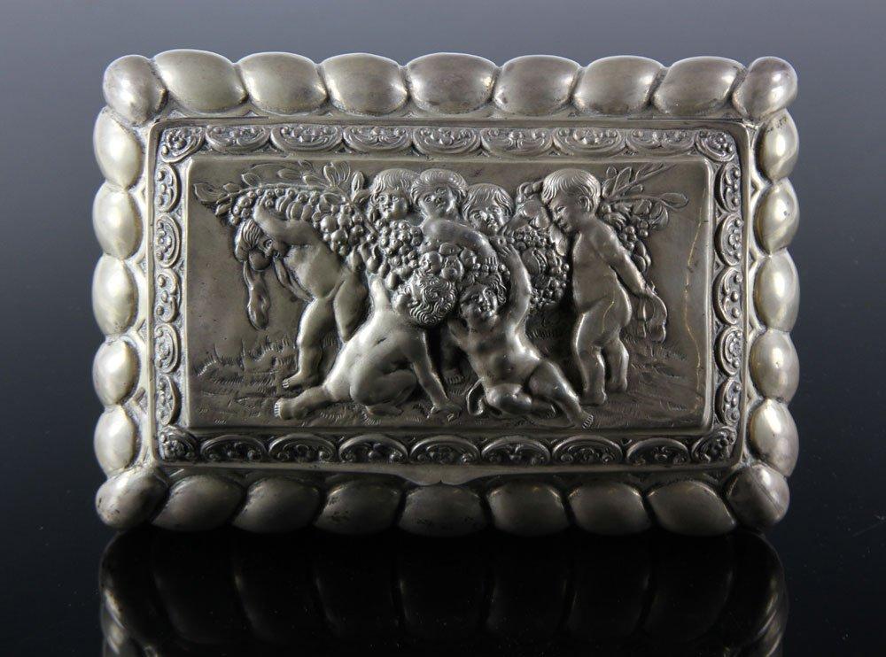 Silver Continental Box - 3