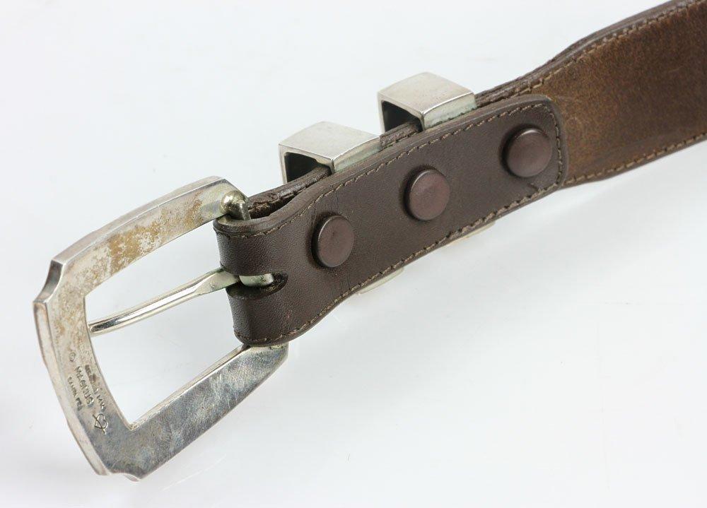 Sterling and 14K Gold Men's Belt - 5