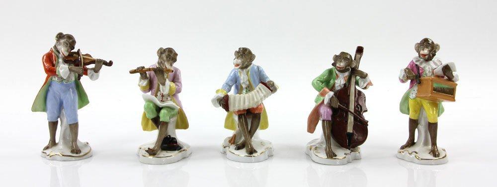 Five German Monkey Musicians