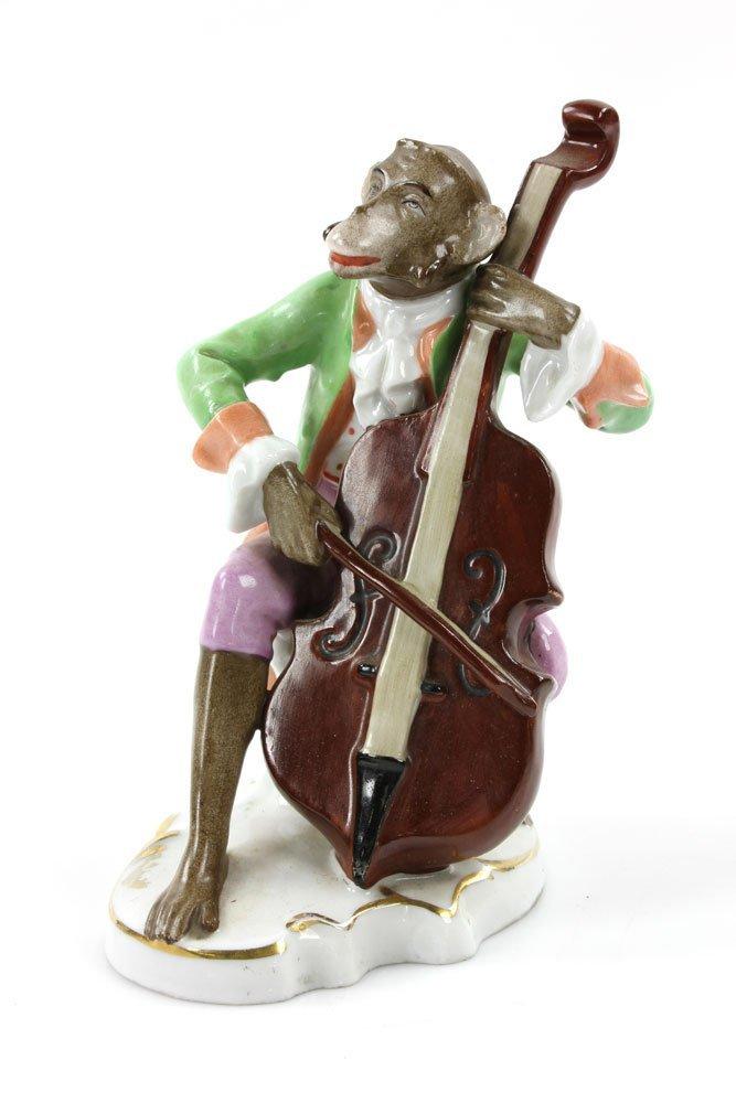 Five German Monkey Musicians - 5