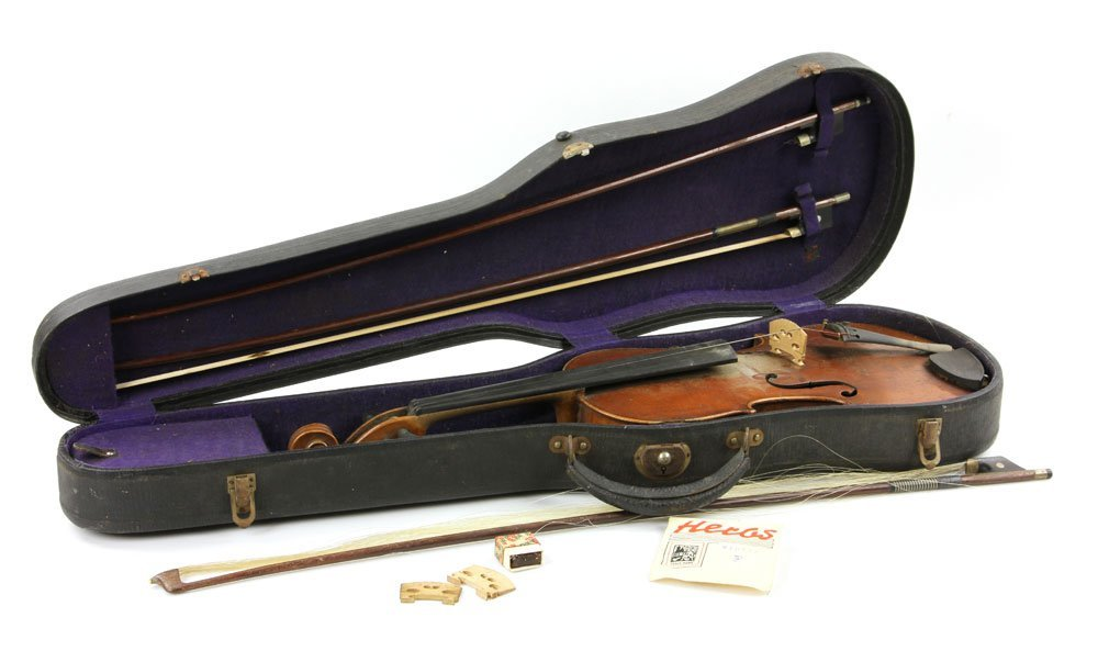 Early Violin with Three Bows