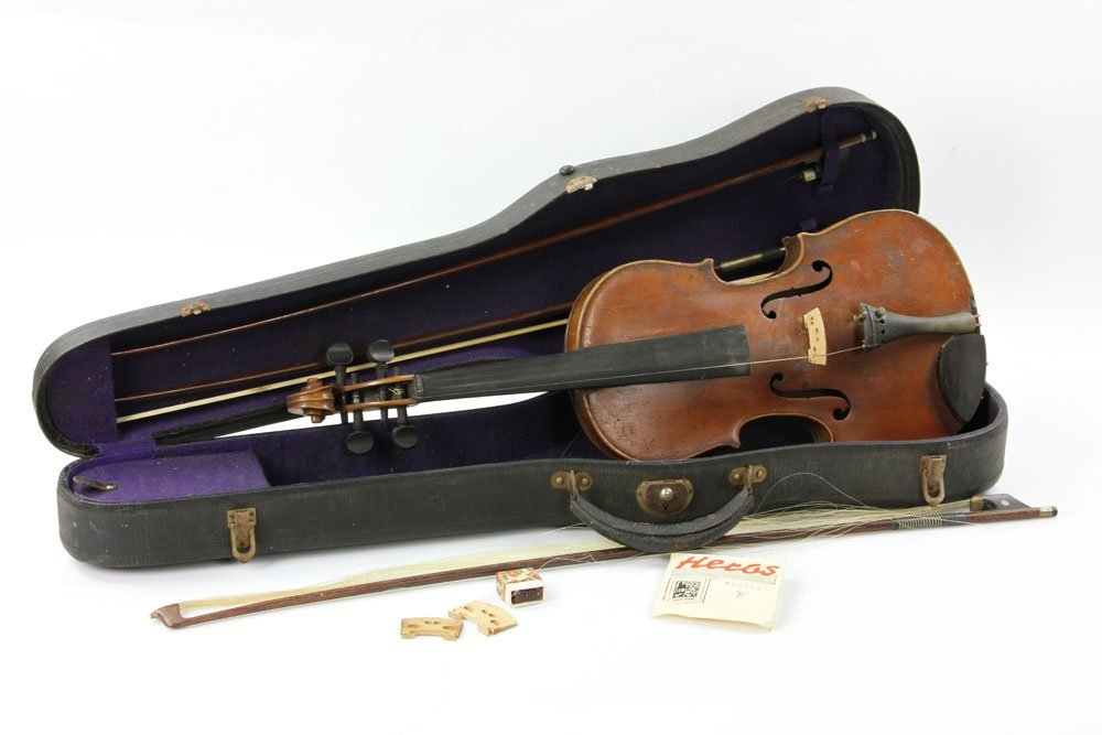 Early Violin with Three Bows - 2