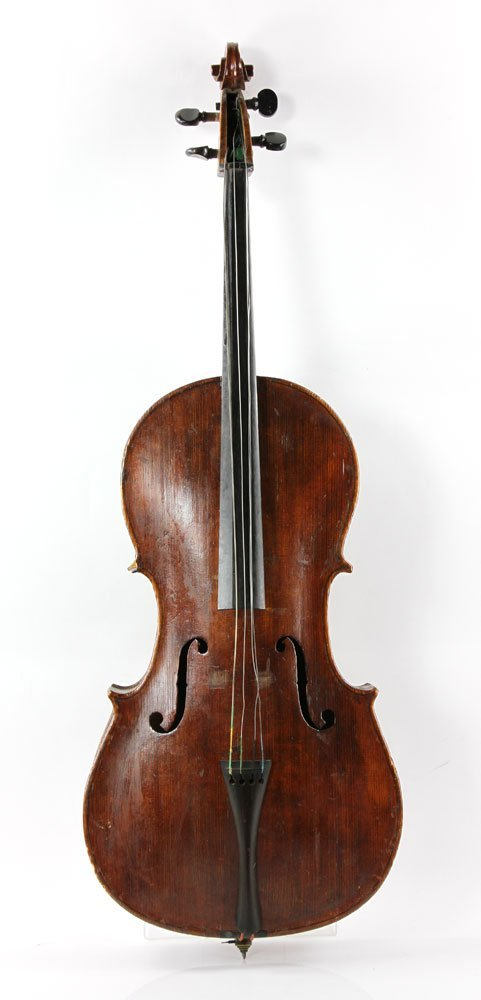 19th C. Cello - 4