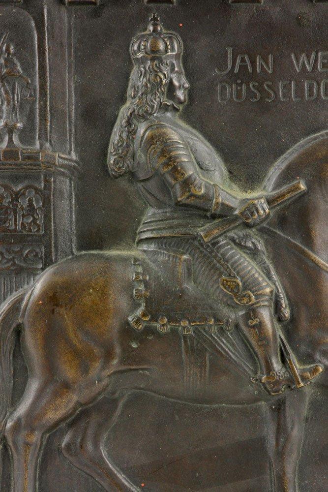 Wilhelm 18th C. Bronze Plaque - 2