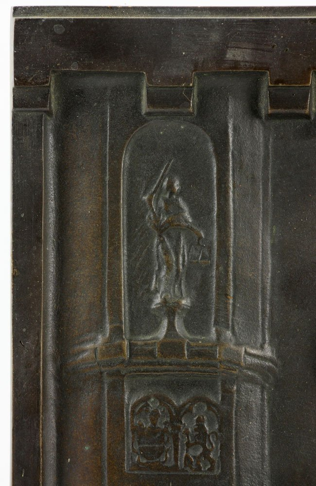Wilhelm 18th C. Bronze Plaque - 4