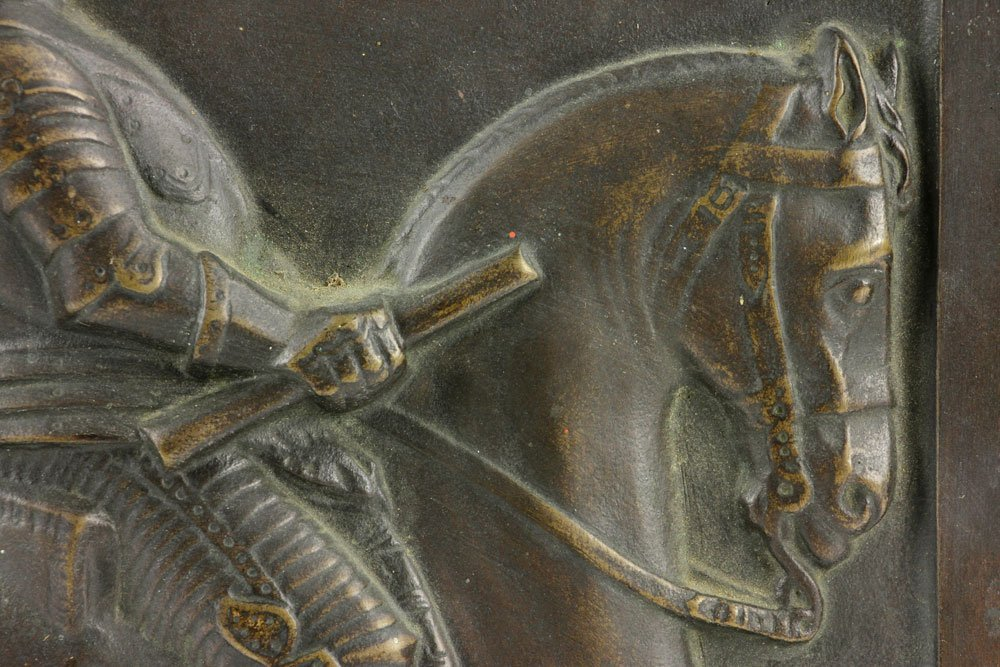 Wilhelm 18th C. Bronze Plaque - 6