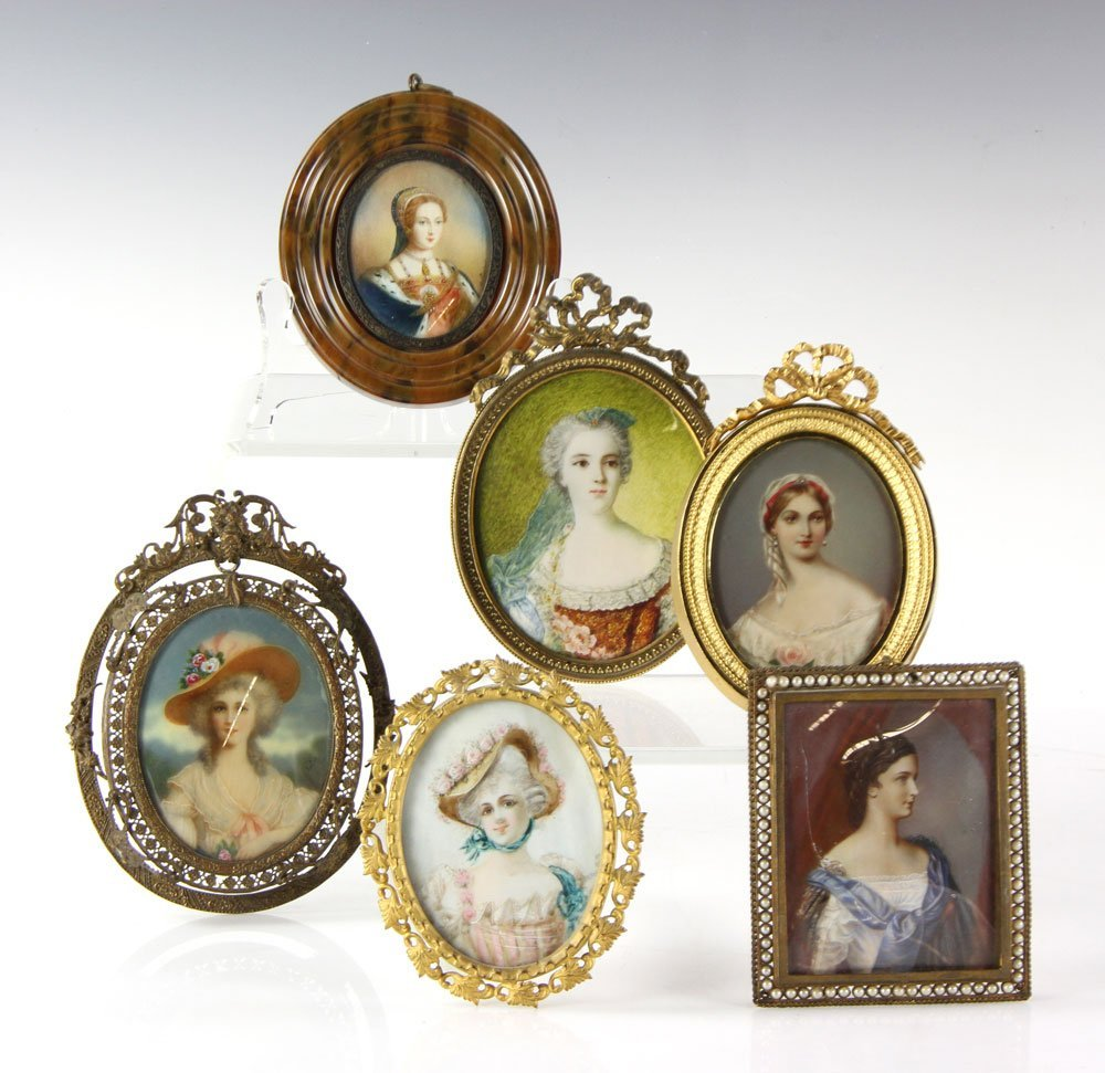 Six Miniature Portraits