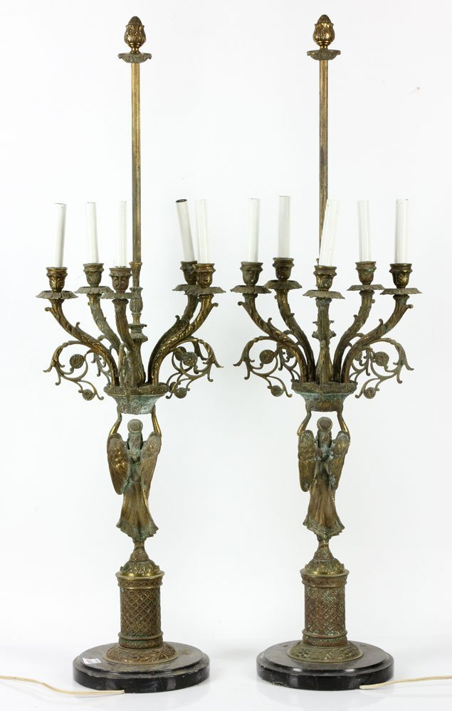 Pair of French Candelabras - 2
