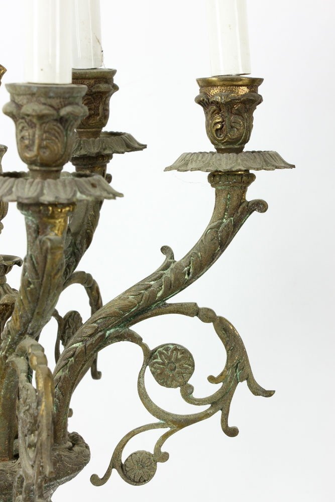 Pair of French Candelabras - 7