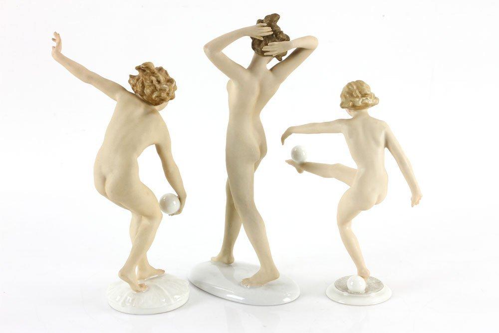 Three Porcelain Ladies - 2