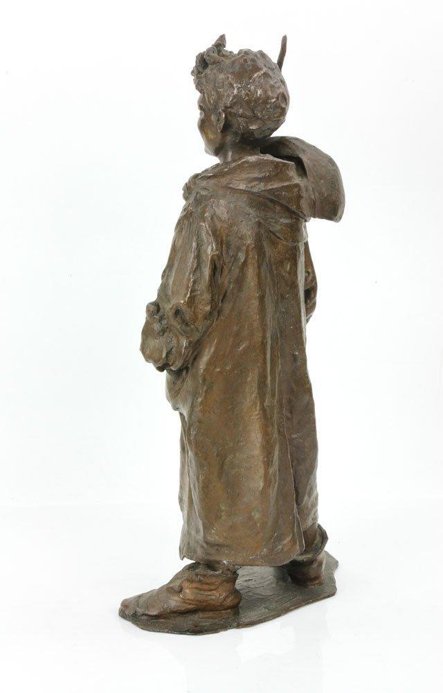 Renda, Statuette of Boy, Bronze - 4