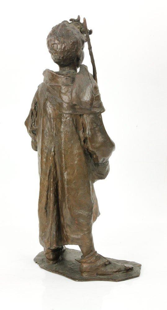 Renda, Statuette of Boy, Bronze - 5