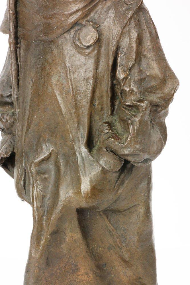Renda, Statuette of Boy, Bronze - 7
