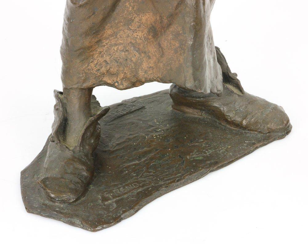 Renda, Statuette of Boy, Bronze - 8