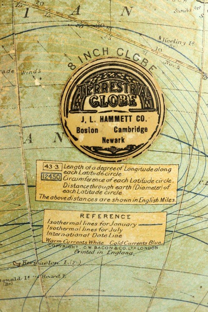 Hammet Co. Desk Globe - 9