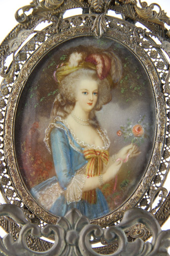 Miniature Portrait of Marie Antoinette - 4