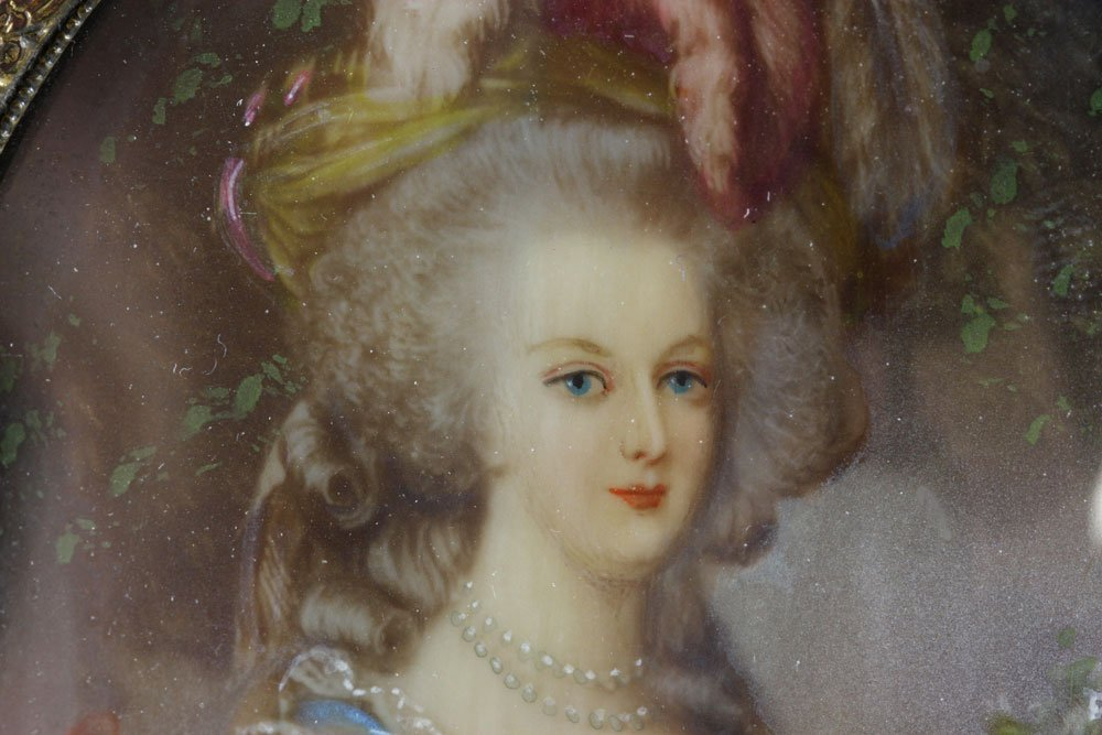 Miniature Portrait of Marie Antoinette - 5