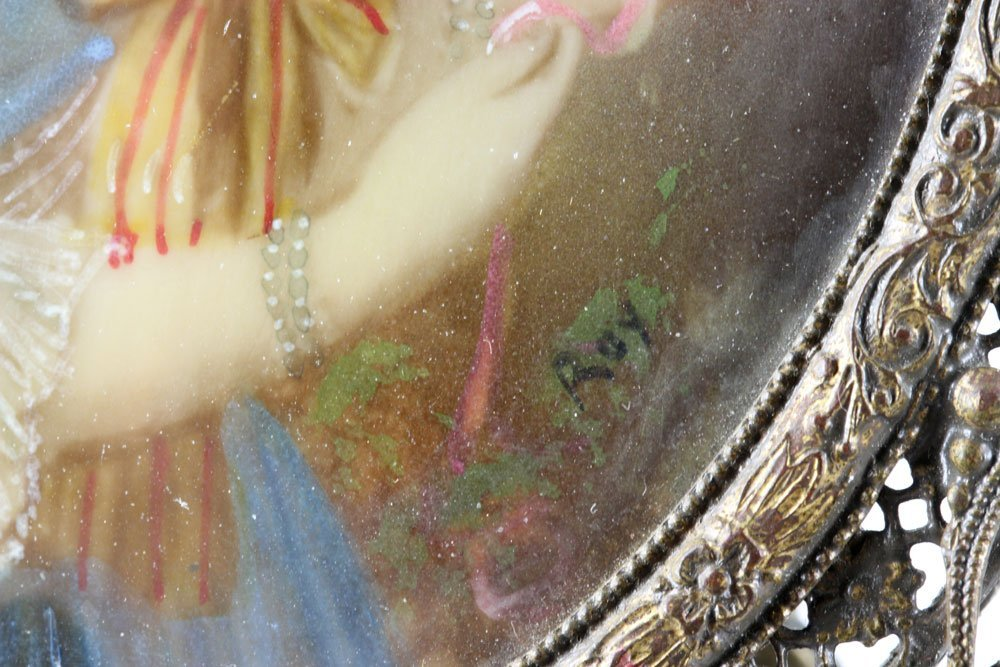Miniature Portrait of Marie Antoinette - 6