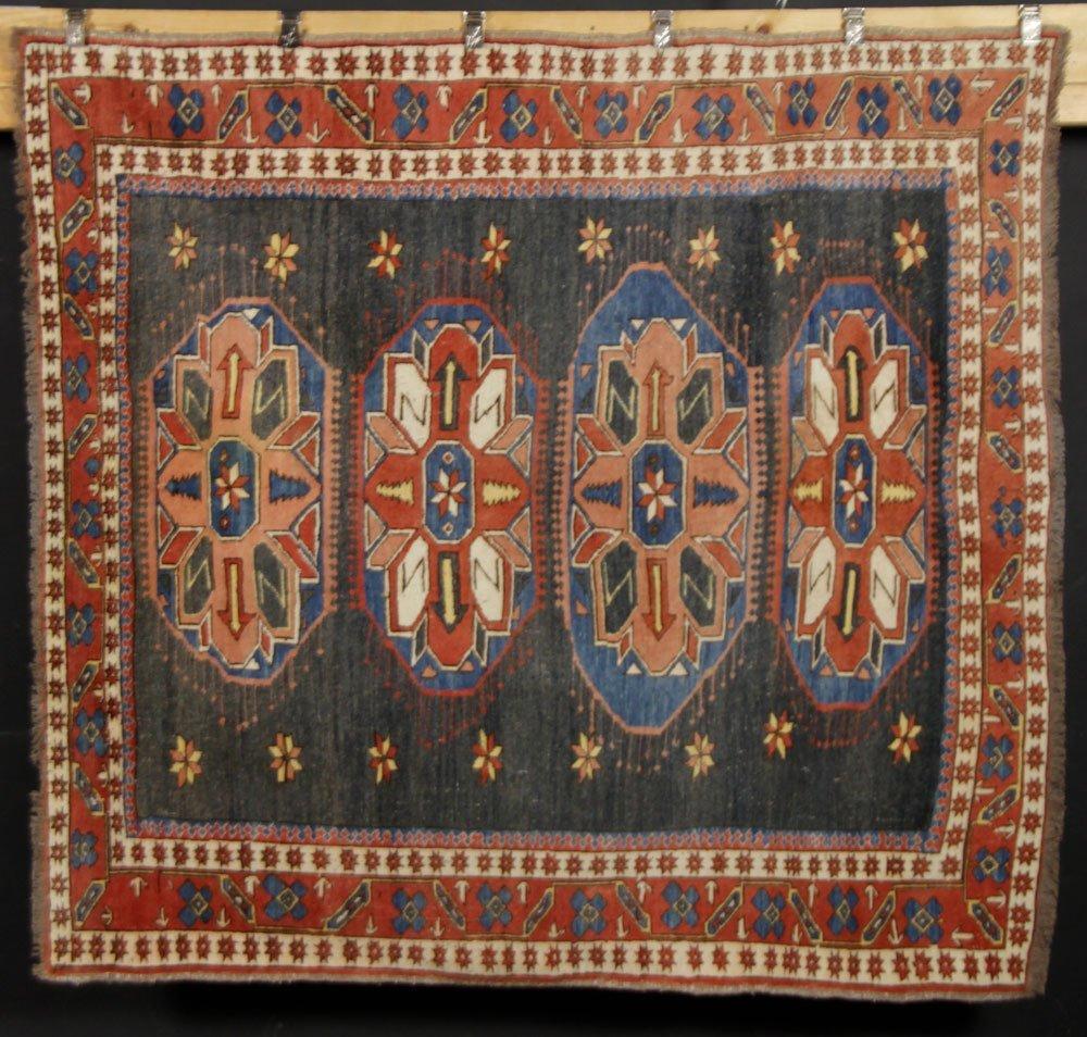 Semi-Antique Caucasian Carpet