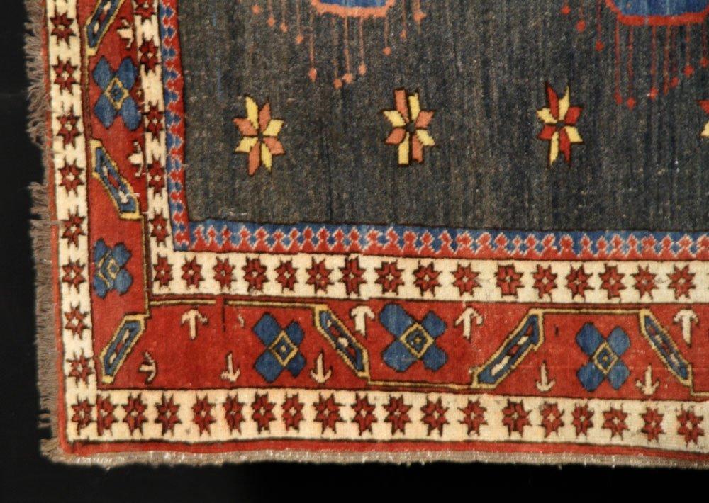 Semi-Antique Caucasian Carpet - 2