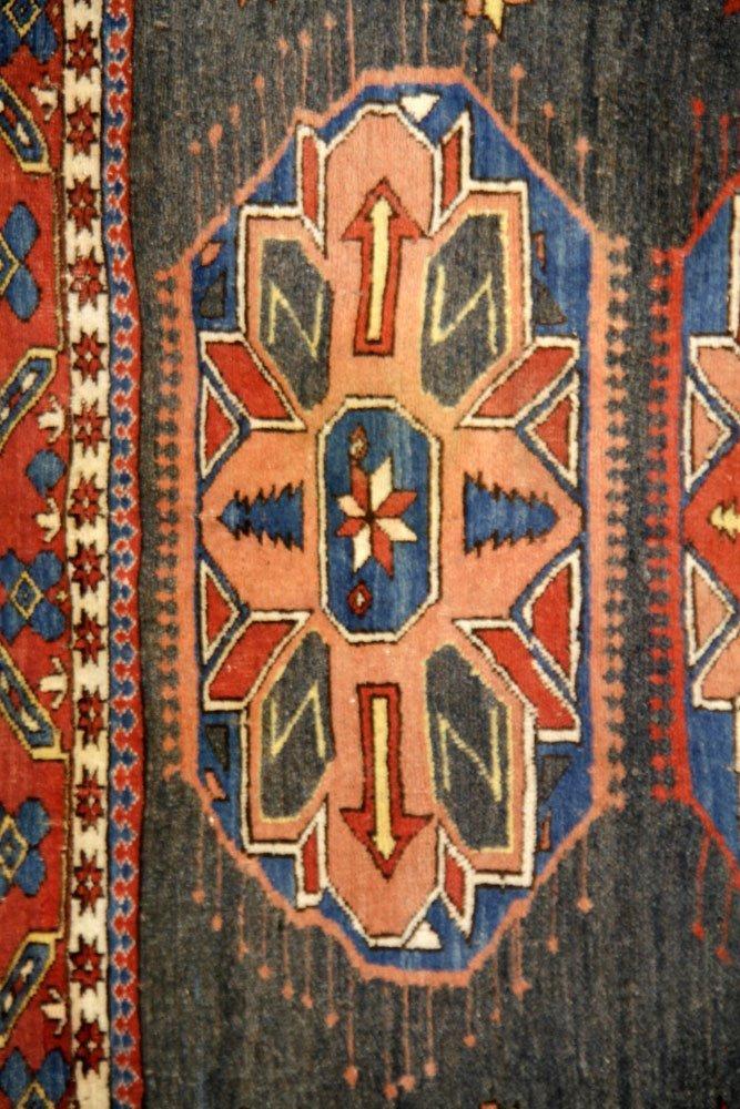 Semi-Antique Caucasian Carpet - 3