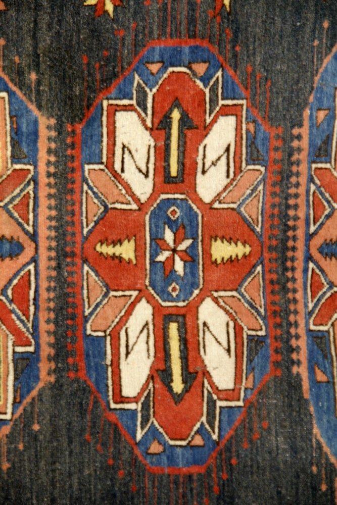 Semi-Antique Caucasian Carpet - 4
