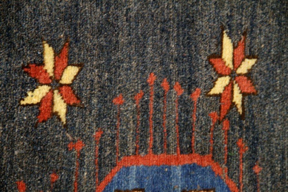 Semi-Antique Caucasian Carpet - 7