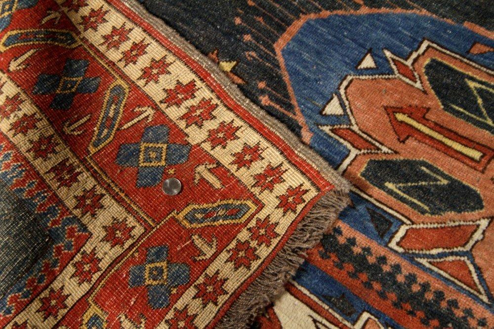 Semi-Antique Caucasian Carpet - 8