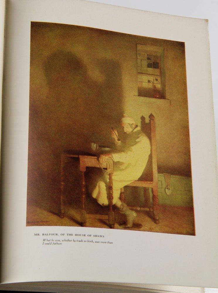 Two R. L. Stevenson Illustrated Books - 10