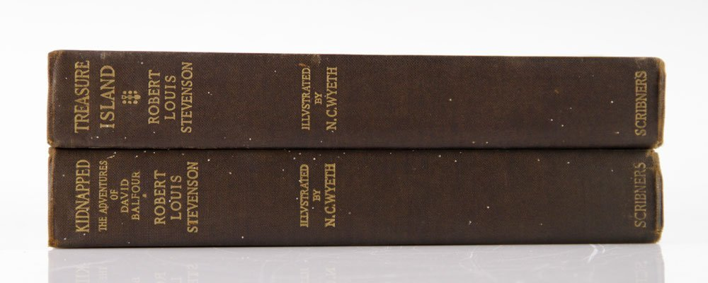 Two R. L. Stevenson Illustrated Books - 3