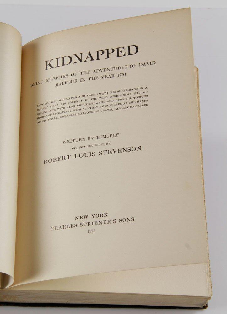Two R. L. Stevenson Illustrated Books - 7