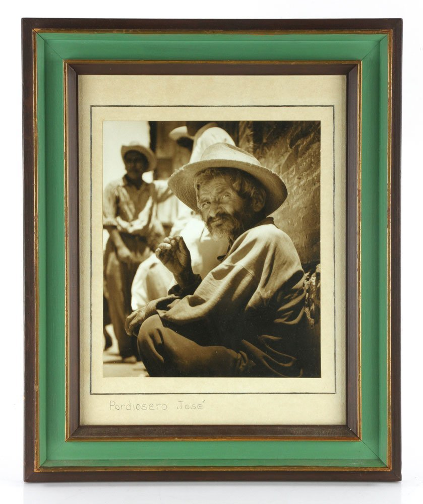 """Pordiosero Jose,"" Silver Gelatin Print"