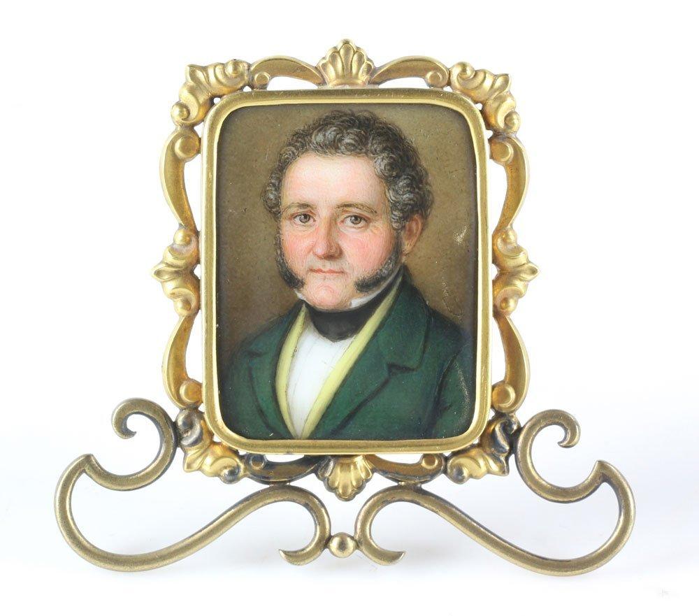 Miniature Porcelain Portrait