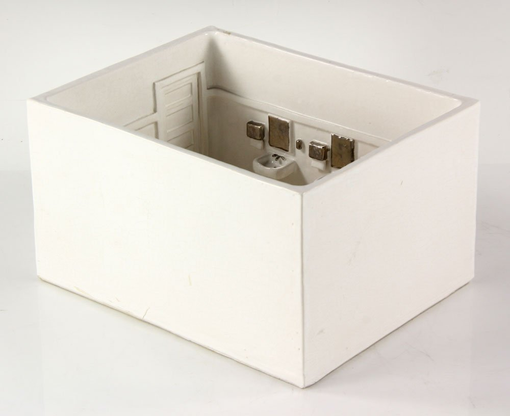 "Furman, ""Untitled (Lavatory)"" Ceramic - 3"