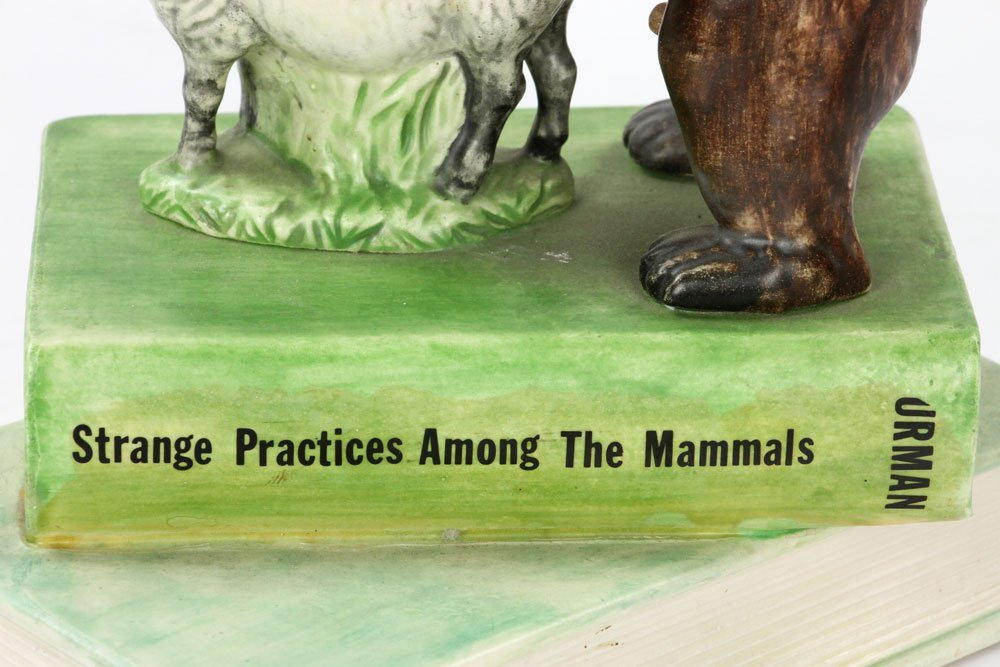 "Furman, ""Strange Practices Among the Mammals,"" Ceramic - 10"
