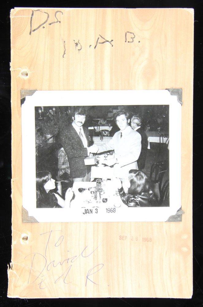 "Ruscha and Bengston, ""Business Cards,"" Folio"