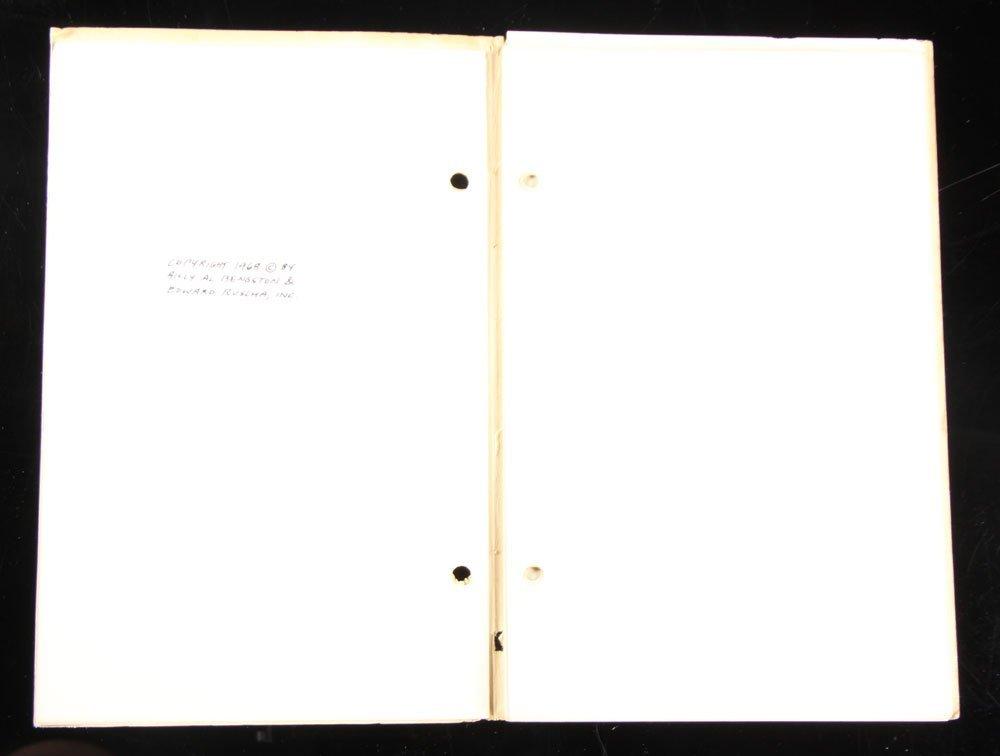 "Ruscha and Bengston, ""Business Cards,"" Folio - 3"