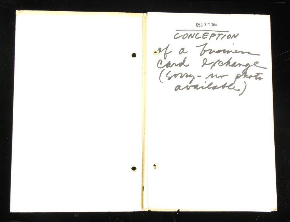 "Ruscha and Bengston, ""Business Cards,"" Folio - 4"