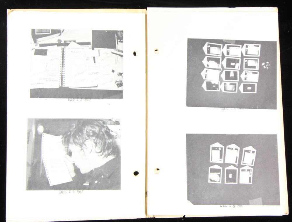 "Ruscha and Bengston, ""Business Cards,"" Folio - 7"