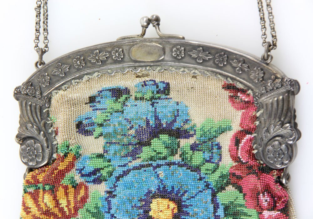 French Beaded Purse - 3
