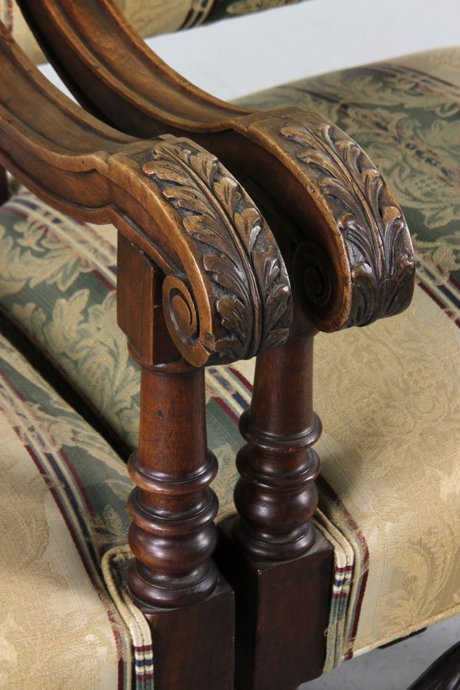 Antique Continental Armchairs - 3